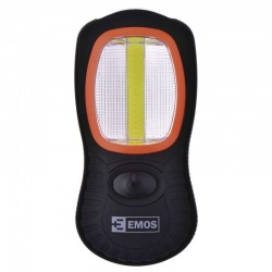 LED Taschenlampe-ABS Material, 3W COB LED + 3 x LED , 3x AAA