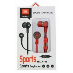 JBL Sports Kopfhörer In-Ear A168 schwarz