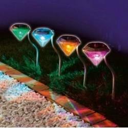 Dekorative Solarleuchten für den Außenbereich