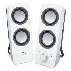 Logitech Z200 Stereo Lautsprecher, weiss