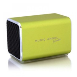 Bluetooth Lautsprecher Music Angel Friendz Lime, grün