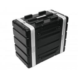 ROADINGER Kunststoff-Rack KR-19, 4HE, DD, schwarz