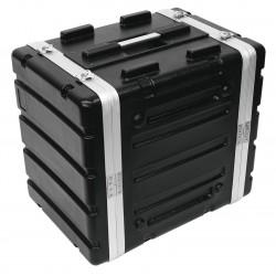 ROADINGER Kunststoff-Rack KR-19, 8HE, DD, schwarz