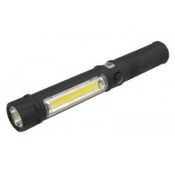 BREMA Taschenlampe Arbeitsleuchte schwarz