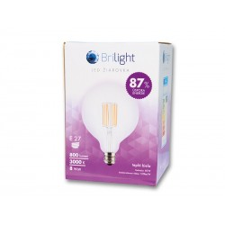 Brilight LED Leuchtmittel E27 8W 3000K