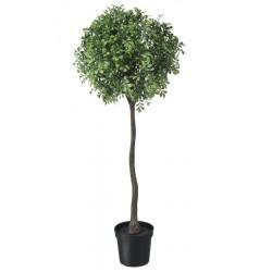 Topfpflanze künstlich Buchsbaum Stamm 98cm