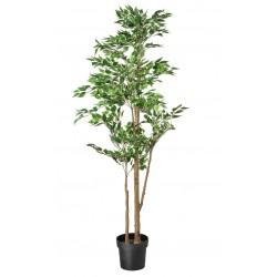 Topfpflanze künstlich Ficus grünlaubig 170cm