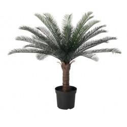 Topfpflanze künstlich Palmfarn 83cm