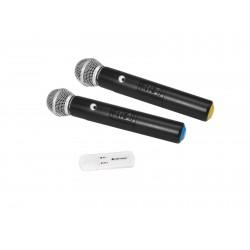 OMNITRONIC UWM-2HH USB Funkmikrofon-Set