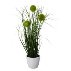 Kunstpflanze im Keramiktopf