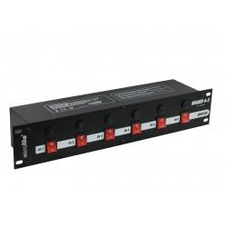 Eurolite Stromverteiler Board 6-S mit 6x Schutzkontaktstecker