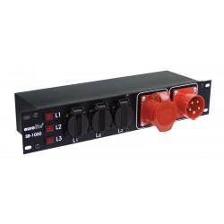 """Eurolite SB-1000 19"""" Stromverteiler"""