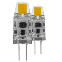 EGLO LED G4 Stecklampe 1,2W, 2700K, 100lm, dimmbar, 2er-Set
