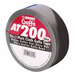 advance Gaffa Tape Schwarz AT200