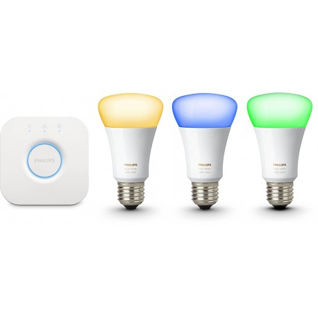 philips hue white color ambiance e27 led lampe starter set soundlightreflex shop. Black Bedroom Furniture Sets. Home Design Ideas