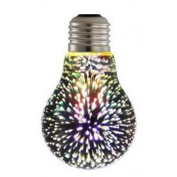 3D LED Leuchtmittel E27 A60
