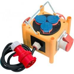 Brennenstuhl Kompakter Stromverteiler BSV 3-LS/16 mit Anschlussleitung