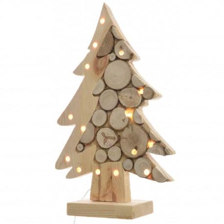 Weihnachtsbeleuchtung Led Baum.Led Baum Kiefer Mit 18 Leds