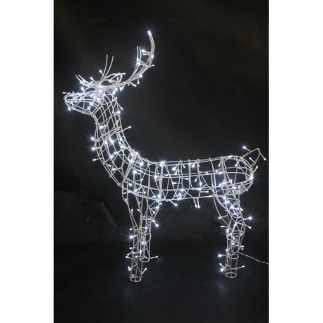Weihnachtsbeleuchtung Rentier Beweglich.Led Rentier Für Aussen