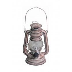 LED Laterne - Rosa 19cm