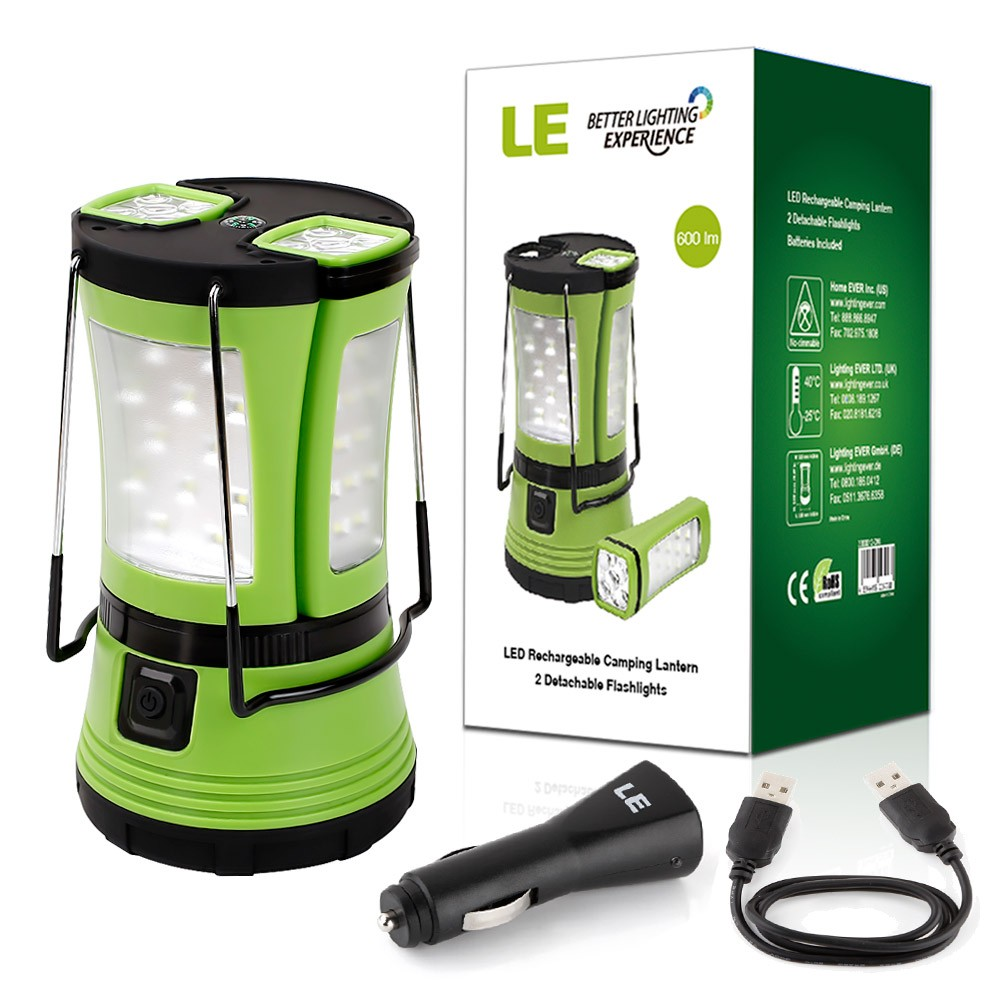 Lighting Ever Led Camping Laterne 600 Lm