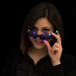 LED Sonnenbrille