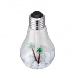 Aroma Luftbefeuchter in Glühbirnenoptik Silber (153 * 88 * 88mm)