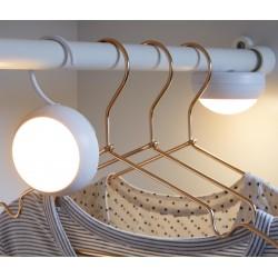 2 LED-Leuchten mit Haken