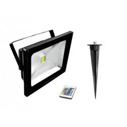 EUROLITE LED IP FL-30 COB RGB FB + Spieß