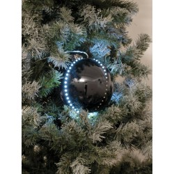 EUROPALMS LED Snowball 8cm 5er-Set