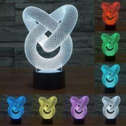 3D Hologramm Tischlampe