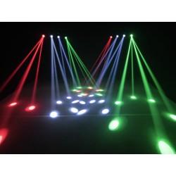 EUROLITE LED QDF-Bar RGBAW Lichtset