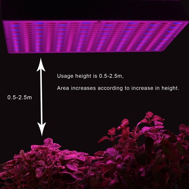 led pflanzenleuchte panel 225 leds soundlightreflex shop. Black Bedroom Furniture Sets. Home Design Ideas
