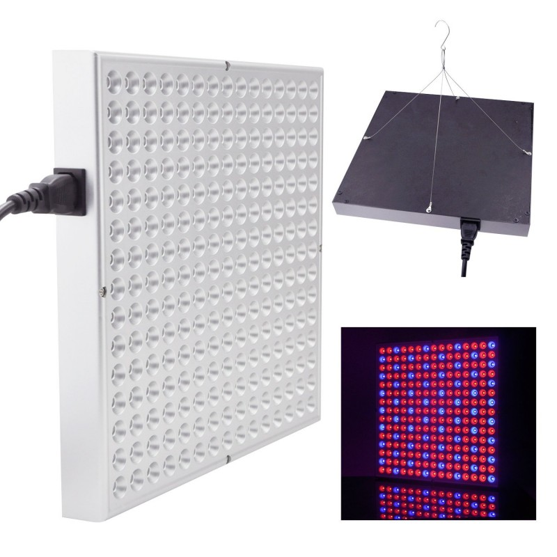 led pflanzenleuchte panel 225 leds soundlightreflex shop. Black Bedroom Furniture Sets. Home Design Ideas