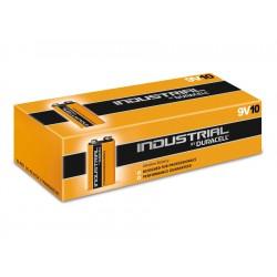 9V-Blockbatterien DURACELL INDUSTRIAL, 10 Stück