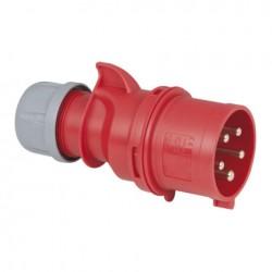 PCE CEE 32A 400V 5p Plug Male