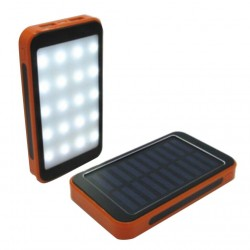 Solar Powerbank mit LED 100000 mAh