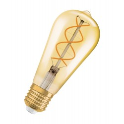 Osram LED Vintage 1906 Tubular 20 E27 Filament Retro-Look 2,8W 2400K wie 20W