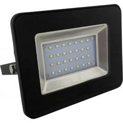 20W LED Fluter SMD IP65 SCHWARZ i-DESIGN Kaltweiß
