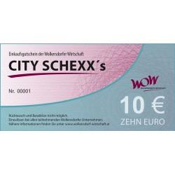 City Schexxs 10 Euro