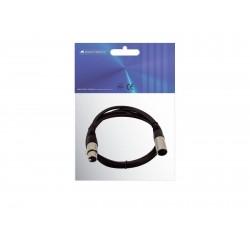 OMNITRONIC XLR Kabel 5pol Schwarz