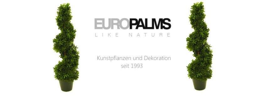 Kunstpflanzen von Europalms - ab sofort bei uns erhältlich!
